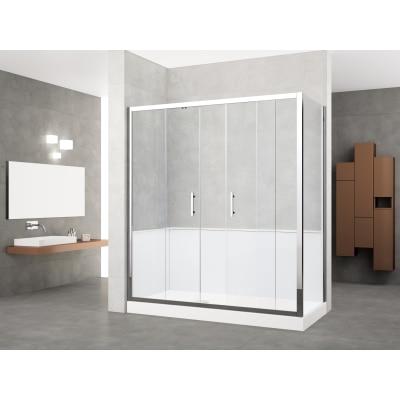 Doccia evolution angolo trasparente 170 x 70 cm sx prezzi - Offerte cabine doccia leroy merlin ...
