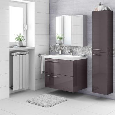 Mobile bagno Elea grigio antracite L 71,5 cm prezzi e offerte online ...