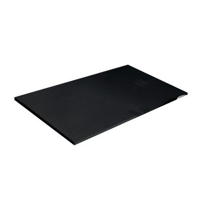 Piatto doccia resina strato 160 x 70 cm nero prezzi e for Offerte cabine doccia leroy merlin