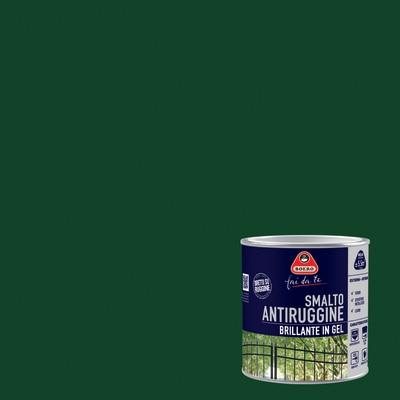 Smalto per ferro antiruggine boero verde impero brillante for Leroy merlin boero