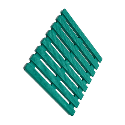 Pedana Per Doccia Plastica.Pedana Per Doccia In Plastica Verde 58 X 58 Cm