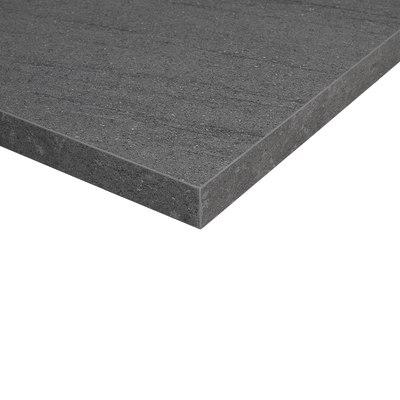 Piano cucina su misura in laminato Pietra Lavica grigio , spessore 4 cm