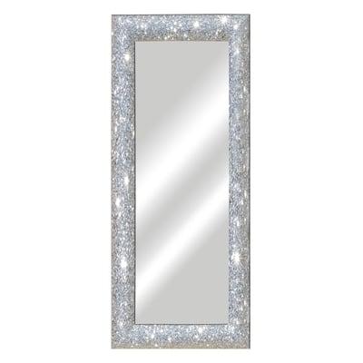 Leroy Merlin Specchi Da Parete.Specchio Glitterata Rettangolare Argento 50x150 Cm