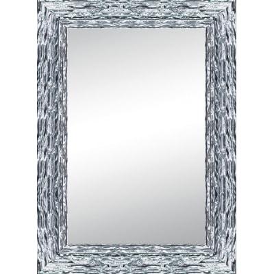 Specchio teresa rettangolare argento 80x120 cm prezzi e for Cuscini 80x120