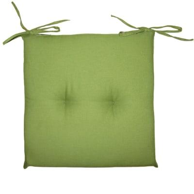 Cuscini Per Sedie Cucina Leroy Merlin.Cuscino Per Sedia Antimacchia Verde 40x40 Cm Prezzi E Offerte
