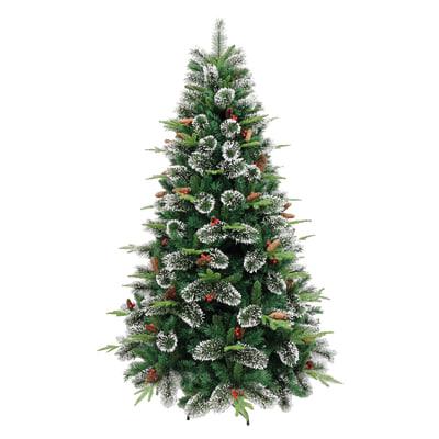 Albero Di Natale Leroy Merlin.Albero Di Natale Artificiale Cortina Verde H 150 Cm Prezzo Online Leroy Merlin