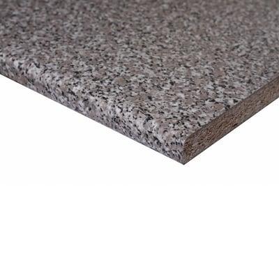 Piano di lavoro in legno granito baveno L 304 x H 60 cm, spessore 2.8 cm