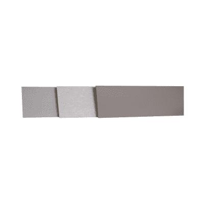 Alzatina su misura Arenite laminato grigio H 10 cm