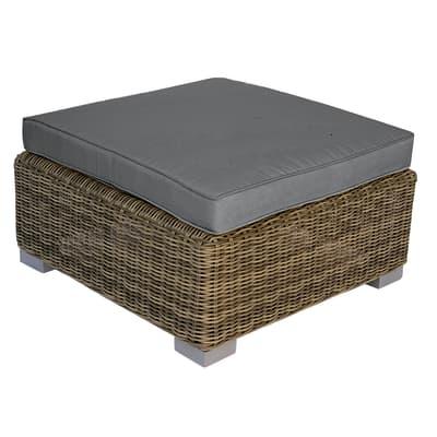 pouf antigua grigio antracite prezzi e offerte online. Black Bedroom Furniture Sets. Home Design Ideas