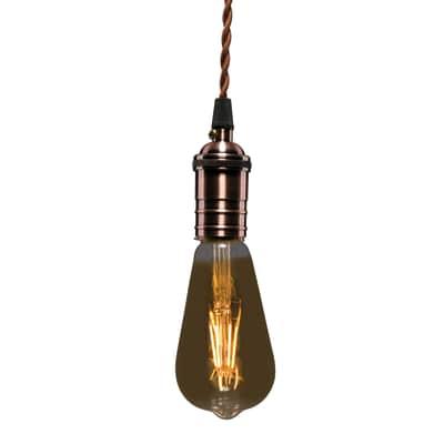 Lampadina decorativa LED Lexman E27 =28W luce calda 360°
