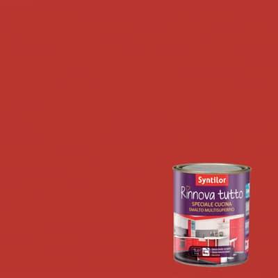 Smalto Rinnova Tutto Syntilor Rosso opaco 1 L