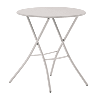 Tavolo pieghevole Gaia, Ø 67 cm bianco