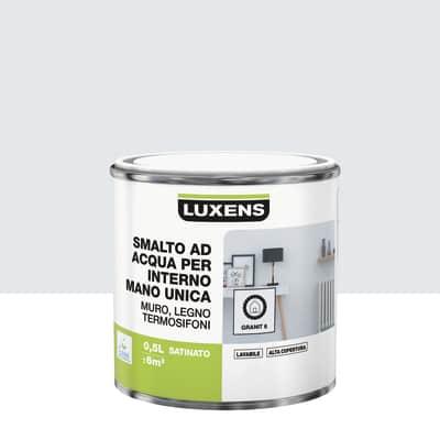 Smalto manounica Luxens all'acqua Grigio Granito 6 satinato 0.5 L