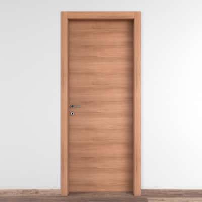 Porta da interno battente Degas noce 90 x H 210 cm reversibile
