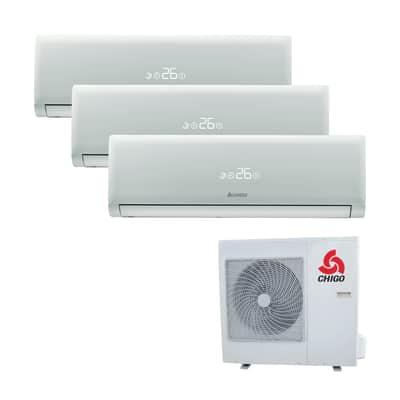 Climatizzatore fisso inverter trialsplit Chigo 169 2.5 + 2.5 + 3.5 kW