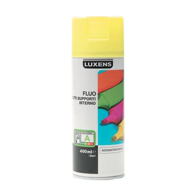 Smalto spray Fluo Luxens giallo fluorescente 400 ml