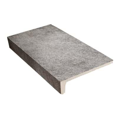 Gradino Ardesia grigio 15 x 30 cm