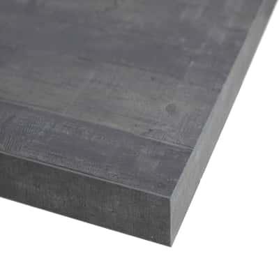 Piano cucina su misura laminato Kaos grigio 2 cm