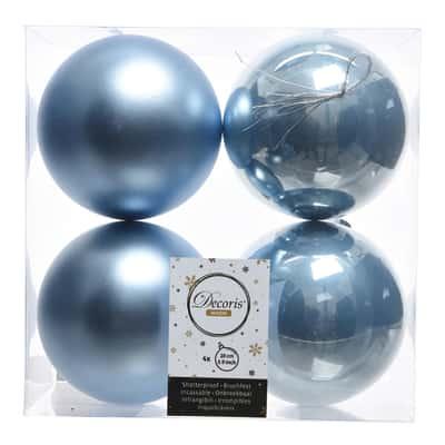 Box sfere azzurre ø 10 cm