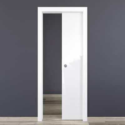 Porta da interno scorrevole Bright 70 x H 210 cm reversibile