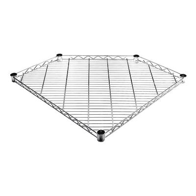 Ripiano Spaceo Chrome Style+ L 68 x P 68 x H 4 cm