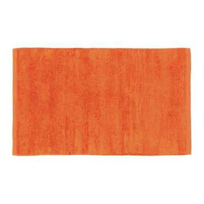 Tappetino cucina Ciniglia heart arancione 50 x 80 cm