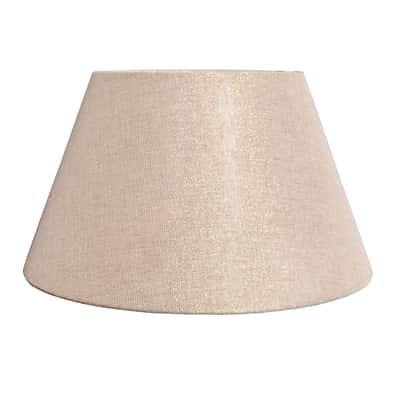 Paralume per lampada da comodino personalizzabile Impero oro, tortora