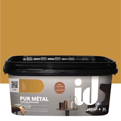 Pittura ad effetto decorativo Pur Metal Oro 2 L