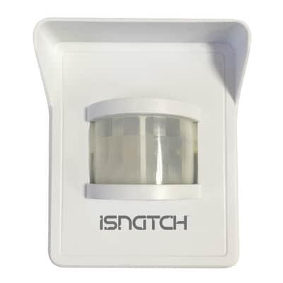 Sensore di movimento salva energia Pir wireless da esterno