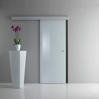 Porta da interno scorrevole Sirio bianco 85 x H 215 cm reversibile ...