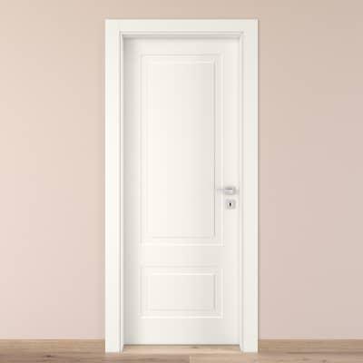 Porta da interno battente Shibuya bianco 80 x H 210 cm sx