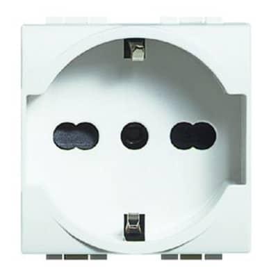 Presa universale BTicino Livinglight bianco