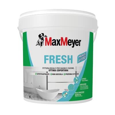 Idropittura traspirante bianca Max Meyer Fresh 4 L