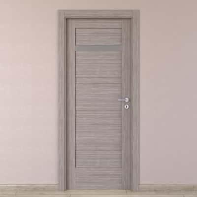 Porta da interno battente Capena 2 sabbia 80 x H 210 cm sx