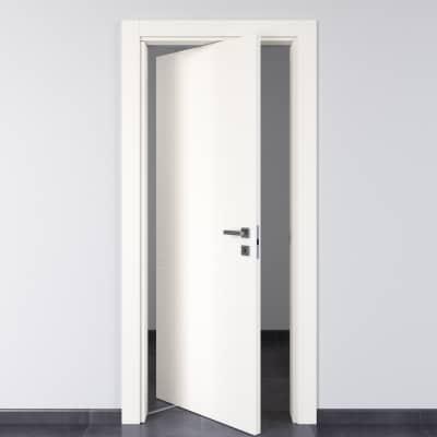 Porta da interno rototraslante Rail bianco 80 x H 210 cm sx