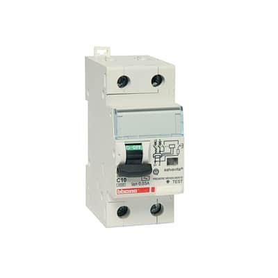 Interruttore magnetotermico differenziale BTicino GC8813AC10 1P + N 10 A
