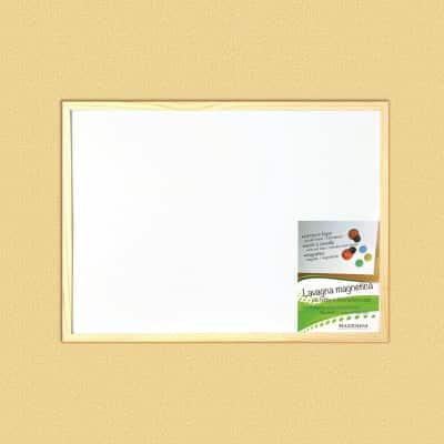 Lavagna magnetica Cornice legno 45 x 30 cm