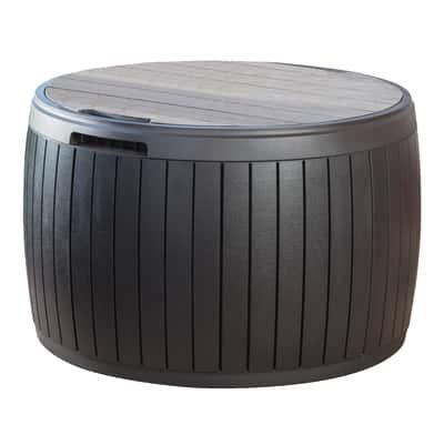 Baule Circa Wood Keter in resina