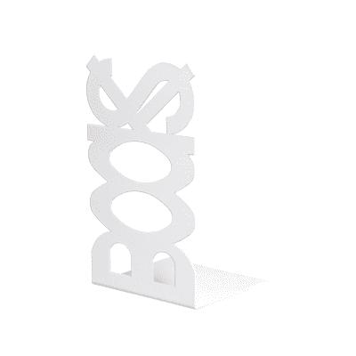 Fermalibri Books argento L 12 x H 21 x P 11 cm