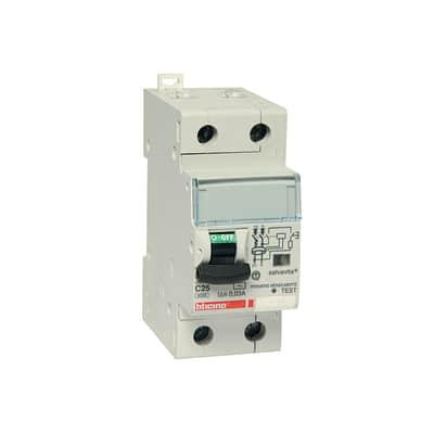 Interruttore magnetotermico differenziale BTicino GC8813AC25
