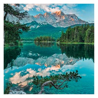 Fotomurale Mirror lake 254 x 184 cm