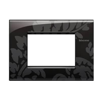 Placca 3 moduli BTicino Livinglight Air ramage