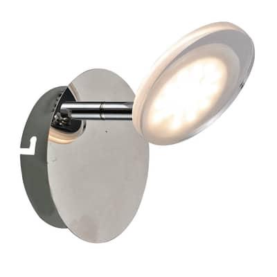 Faretto singolo Inspire Loob cromo LED integrato