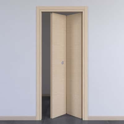 Porta da interno pieghevole Spring rovere chiaro 70 x H 210 cm dx
