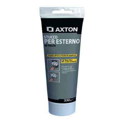 Stucco in pasta Axton  per esterno liscio bianco 330 g