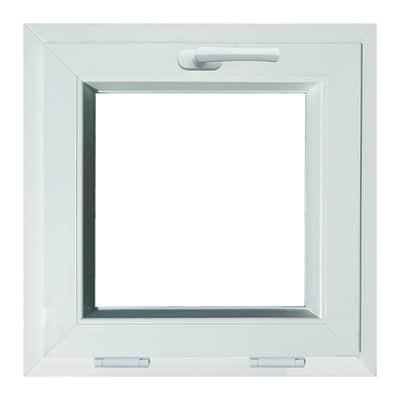 Finestra PVC bianco L 50 x H 50 cm