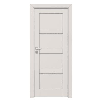 Porta da interno battente Sati bianco 80 x H 210 cm dx