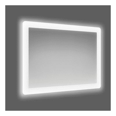 Specchio retroilluminato fog led 60 x 80 cm prezzi e for Specchio make up leroy merlin