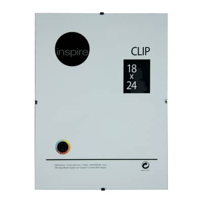 Cornice a giorno Clip Inspire trasparente 18 x 24 cm