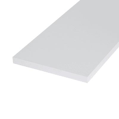 Pannello melaminico bianco 18 x 400 x 1000 mm